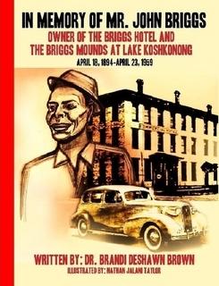 """Book cover of """"In Memory of Mr. John Briggs"""""""