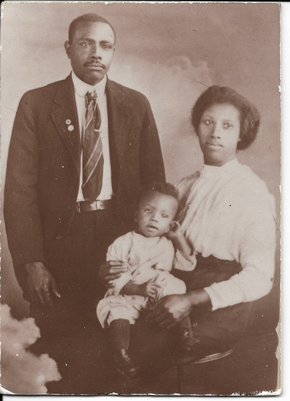 John William Johnson Family Portrait