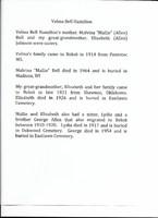 Velma Bell  Hamilton Biography by Cheryl Johnson Caldwell