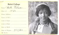 Velma Bell Hamilton Freshman Portrait