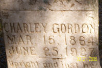 Grave of Charley Gordon
